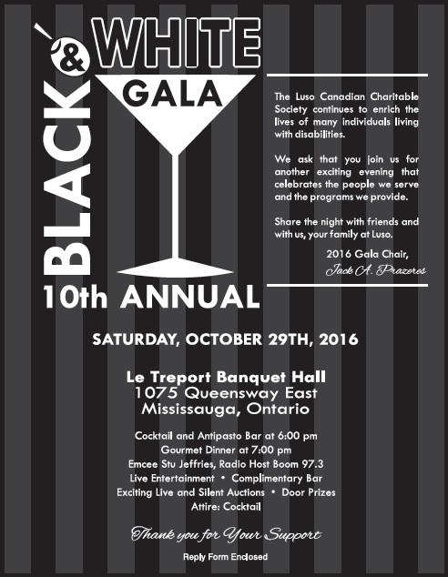 Gala Invitation 2016